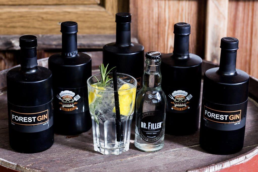 Forest Gin & Dr. Filler